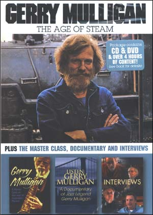 Gerry Mulligan – The Age of Steam - DVD