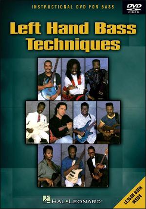 LEFT HAND BASS TECH - DVD