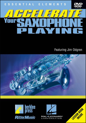 ACCELERATE YOUR SAX DVD