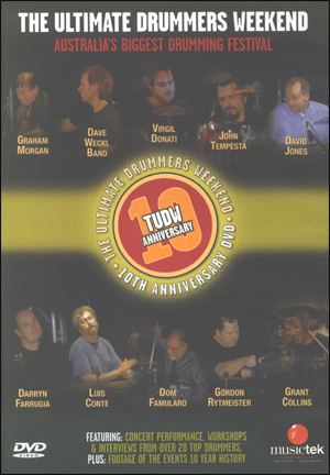 THE ULTIMATE DRUMMER'S WEEKEND - 10TH ANNIVERSARY - DVD