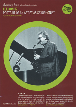 KONITZ:PORTRAIT OF ARTIST DVD