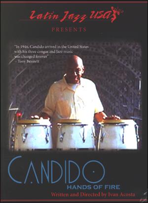CANDIDO: HANDS OF FIRE - DVD