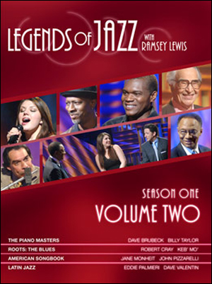 JAZZ LEGENDS WITH RAMSEY LEWIS - SEASON ONE, VOLUME 2 - DVD