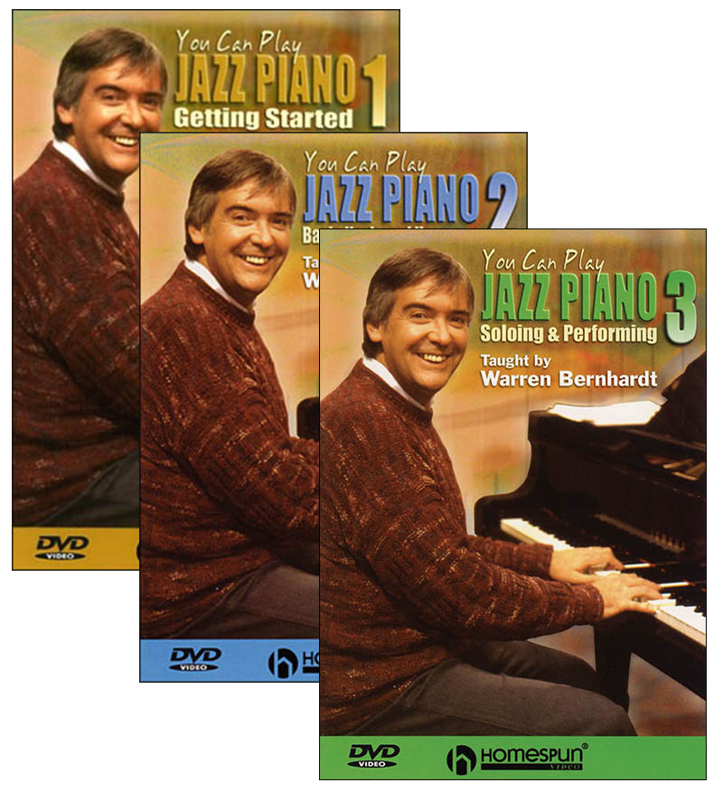 You Can Play Jazz Piano Video Series - DVD Set