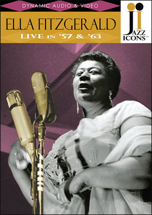 Jazz Icons: Ella Fitzgerald, Live in '57 and '63 - DVD