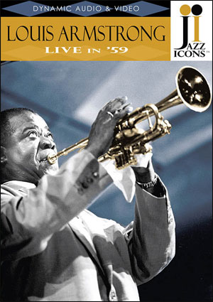 Jazz Icons: Louis Armstrong, Live in '59 - DVD