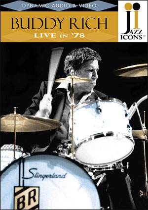 Jazz Icons: Buddy Rich, Live in '78 - DVD
