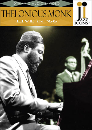 Jazz Icons: Thelonious Monk, Live in '66 - DVD