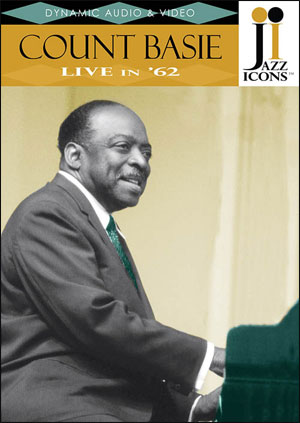 Jazz Icons: Count Basie, Live in '62 - DVD