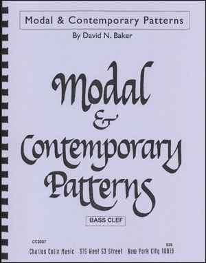 Modal & Contemporary Patterns - Bass Clef