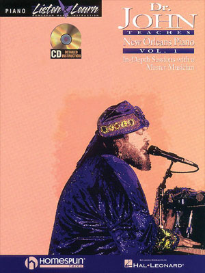 Dr. John Teaches New Orleans Piano - Volume 1 Bk/CD