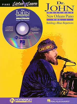 Dr. John Teaches New Orleans Piano - Volume 2 Bk/CD