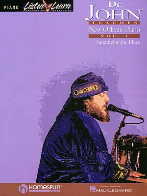 Dr. John Teaches New Orleans Piano - Volume 3 Bk/CD