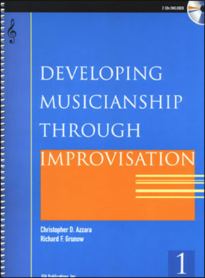 Developing Musicianship Through Improvisation Book 1 - E Flat Instruments
