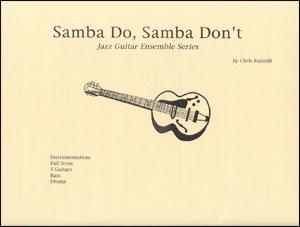 Samba Do, Samba Don't