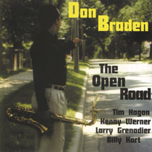 Don Braden - The Open Road