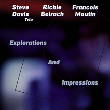 Explorations And Impressions - Steve Davis Trio