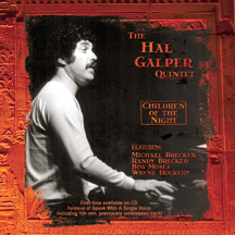 The Hal Galper Quintet - Children Of The Night