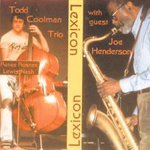 Todd Coolman Trio & Joe Henderson - Lexicon