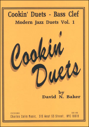 Cookin' Jazz Duets - Bass Clef