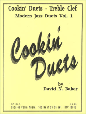 Cookin' Jazz Duets - Treble Clef