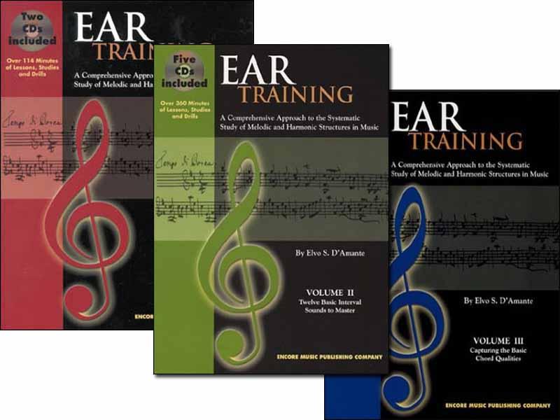 EAR TRAINING - All 3 Volumes