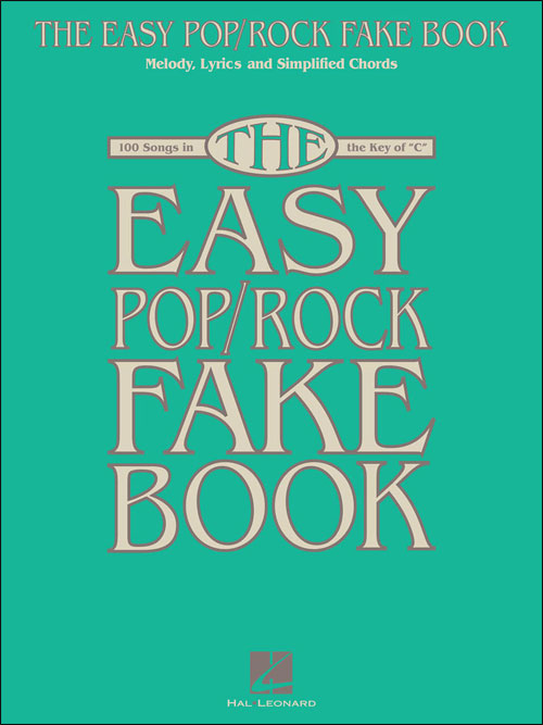 The Easy Pop/Rock Fake Book