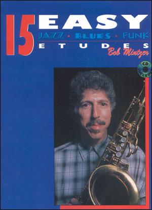 15 Easy Jazz Blues & Funk Etudes for Alto Sax