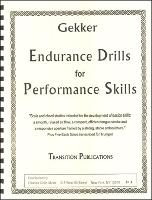 Endurance Drills for Performance Skills (Trumpet)