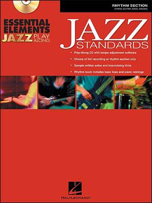 Essential Elements Jazz Play-Along - Jazz Standards - Rhythm Section