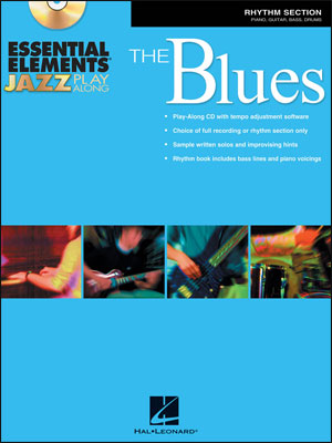 Essential Elements Jazz Play-Along – The Blues - Rhythm Section