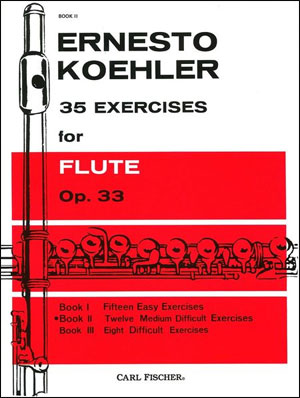 35 Exercises for Flute - Book 2