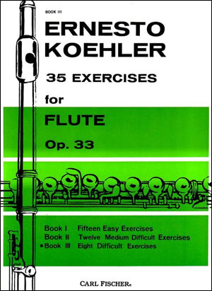 35 Exercises for Flute - Book 3