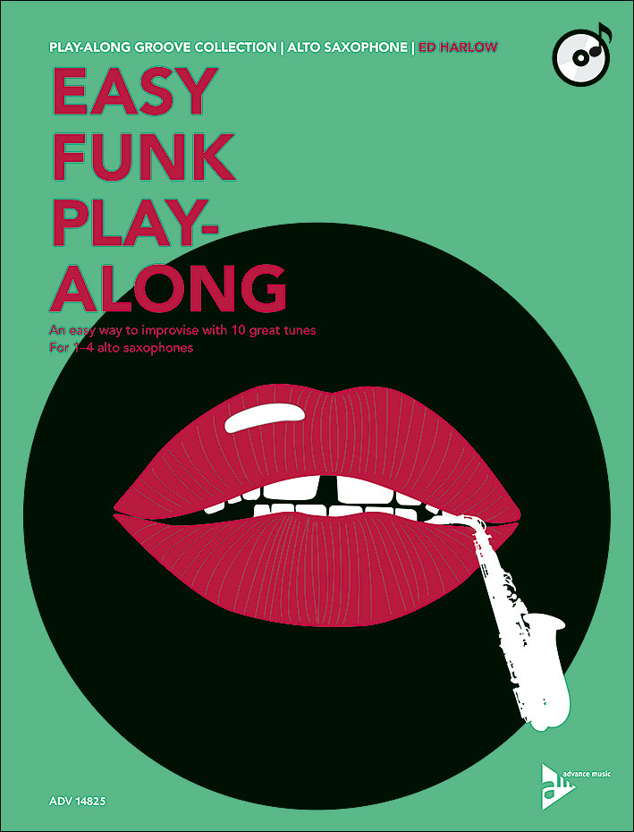 Easy Funk Play-Along - Alto Saxophone