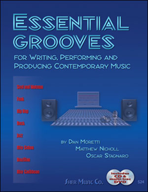 Essential Grooves - For Writing, Performing and Producing Contemporary Music