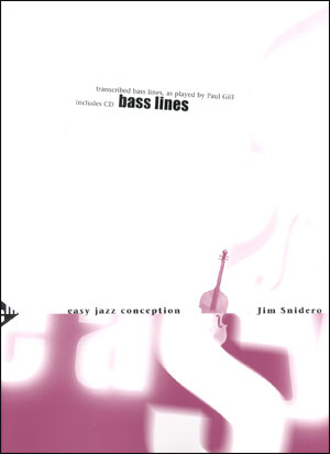 Easy Jazz Conception for Bass Lines