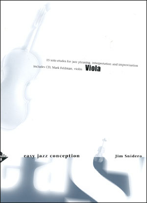 Easy Jazz Conception for Viola