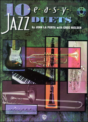 10 Easy Jazz Duets in C (Flute, Guitar, Violin, Vibraphone, Piano)