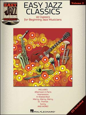 Easy Jazz Play-Along Vol. 3 - Easy Jazz Classics - Bk/CD
