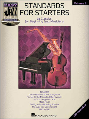 Easy Jazz Play-Along Vol. 2 - Standards for Starters - Bk/CD