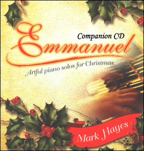 Emmanuel - Artful Piano Solos for Christmas - Companion CD
