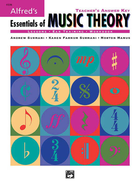 Alfred's Essentials of Music Theory: Teacher's Answer Key