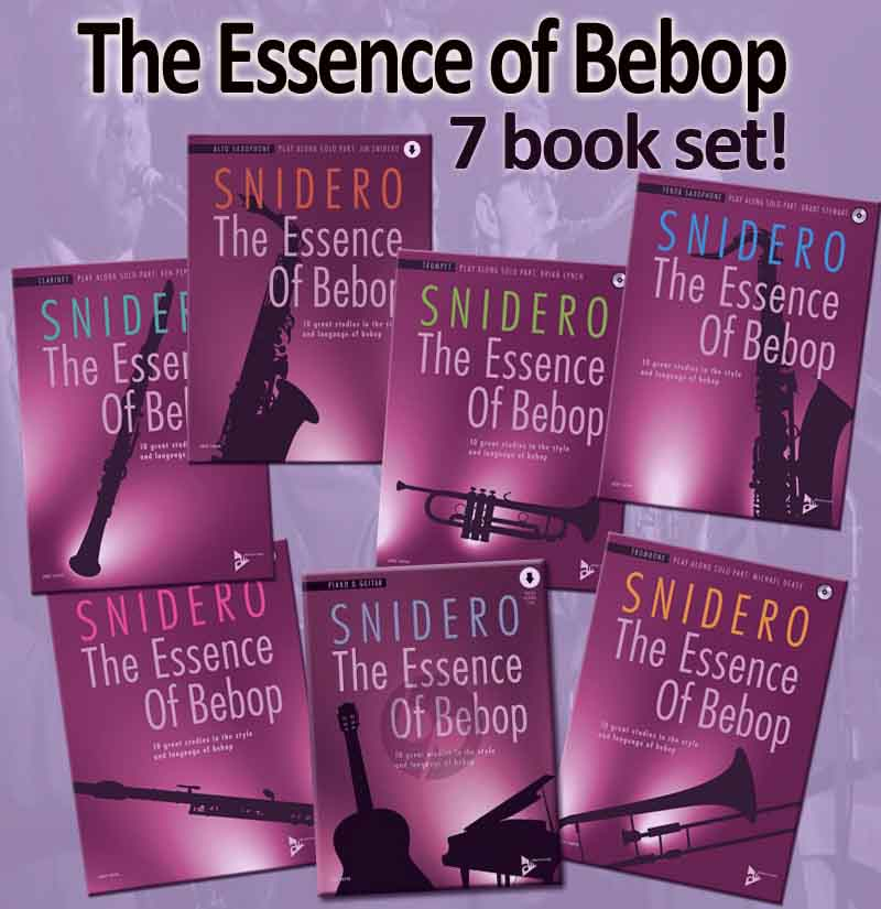The Essence Of Bebop 6 Book Set