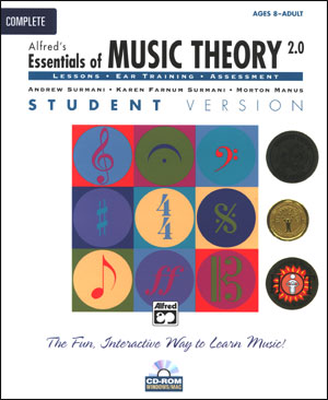 Essentials of Music Theory Software Version 3.0 - COMPLETE Student version