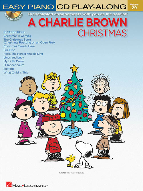 Charlie Brown Christmas - Easy Piano Play-Along