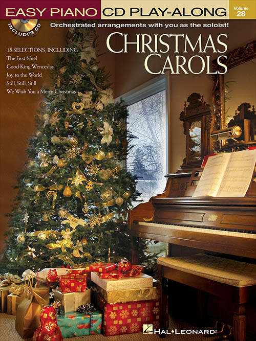 Christmas Carols - Easy Piano Play-Along