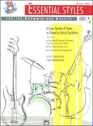Essential Styles For The Drummer And Bassist - Book 1