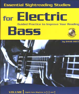 Essential Sightreading For Electric Bass - 3 Books/Cds (Volumes 1-3)