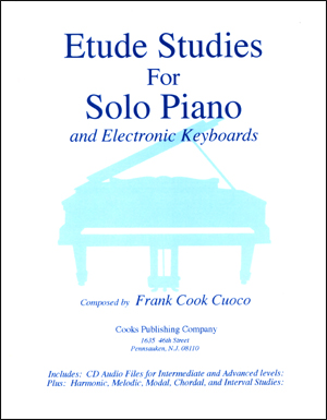 Etude Studies For Solo Piano - Book/CD