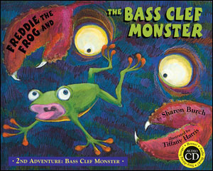 Freddie The Frog and The Bass Clef Monster: 2nd Adventure - Bass Clef Monster